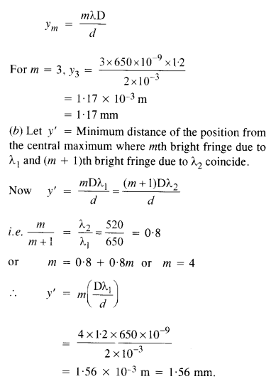 NCERT Solutions for Class 12 Physics Chapter 10 Wave Optics 5
