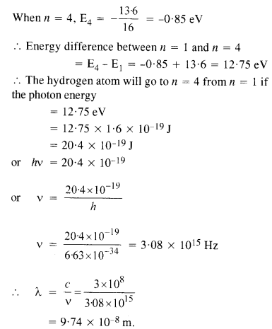 NCERT Solutions for Class 12 Physics Chapter 12 Atoms 4