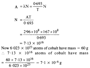 NCERT Solutions for Class 12 Physics Chapter 13 Nuclei 12