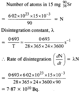 NCERT Solutions for Class 12 Physics Chapter 13 Nuclei 13