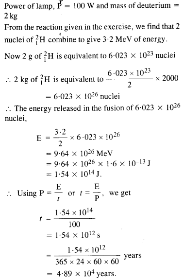NCERT Solutions for Class 12 Physics Chapter 13 Nuclei 32