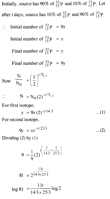 NCERT Solutions for Class 12 Physics Chapter 13 Nuclei 43