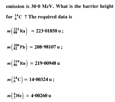 NCERT Solutions for Class 12 Physics Chapter 13 Nuclei 46