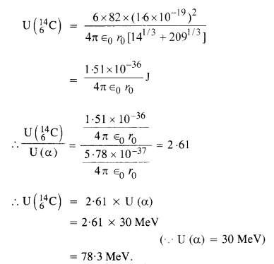 NCERT Solutions for Class 12 Physics Chapter 13 Nuclei 50