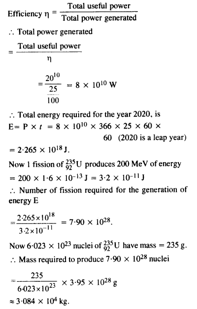 NCERT Solutions for Class 12 Physics Chapter 13 Nuclei 64