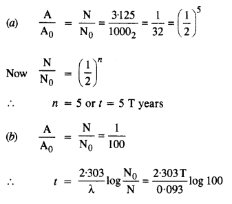 NCERT Solutions for Class 12 Physics Chapter 13 Nuclei 8