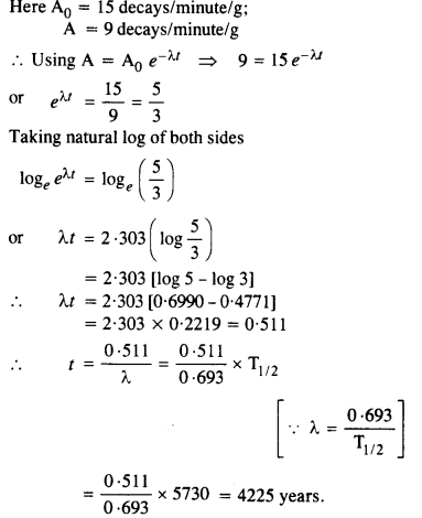 NCERT Solutions for Class 12 Physics Chapter 13 Nuclei 10