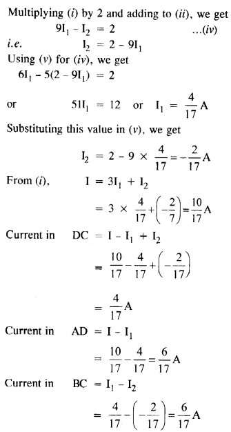 NCERT Solutions for Class 12 Physics Chapter 3 Current Electricity 13