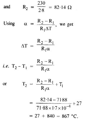 NCERT Solutions for Class 12 Physics Chapter 3 Current Electricity 9
