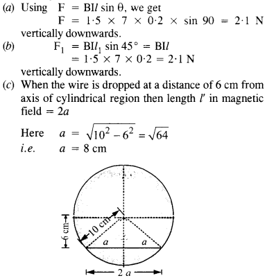 NCERT Solutions for Class 12 Physics Chapter 4 Moving Charges and Magnetism 26