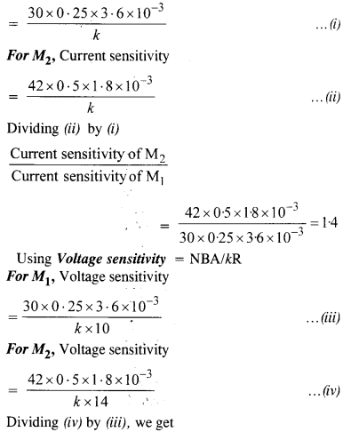 NCERT Solutions for Class 12 Physics Chapter 4 Moving Charges and Magnetism 9