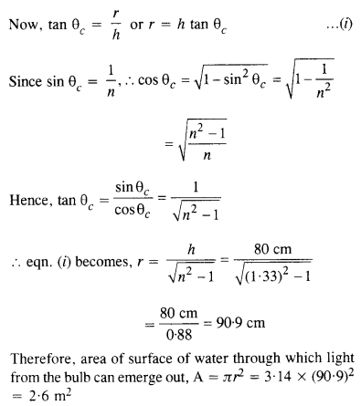 NCERT Solutions for Class 12 Physics Chapter 9 Ray Optics and OptNCERT Solutions for Class 12 Physics Chapter 9 Ray Optics and Optical Instruments 7ical Instruments 7