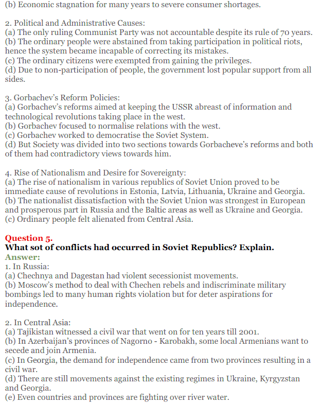 NCERT Solutions for Class 12 Political Science Chapter 2 The End of Bipolarity 21