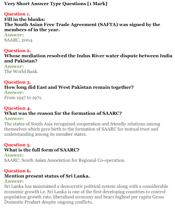 NCERT Solutions for Class 12 Political Science Chapter 5 Contemporary South Asia 7