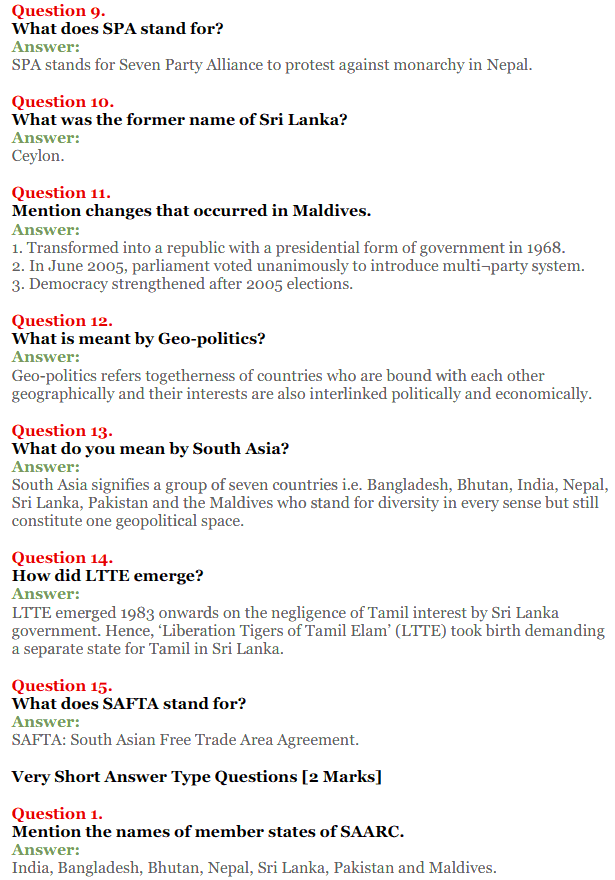 NCERT Solutions for Class 12 Political Science Chapter 5 Contemporary South Asia 9