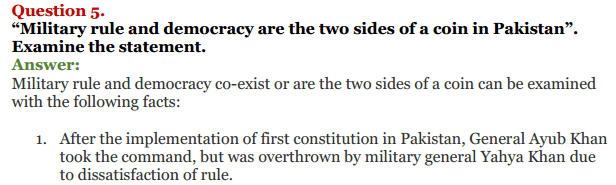 NCERT Solutions for Class 12 Political Science Chapter 5 Contemporary South Asia 11