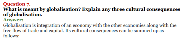 NCERT Solutions for Class 12 Political Science Chapter 9 Globalisation 14