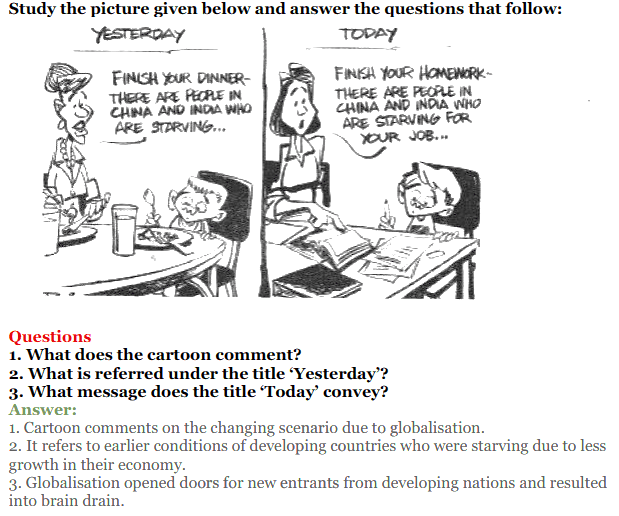 NCERT Solutions for Class 12 Political Science Chapter 9 Globalisation 22