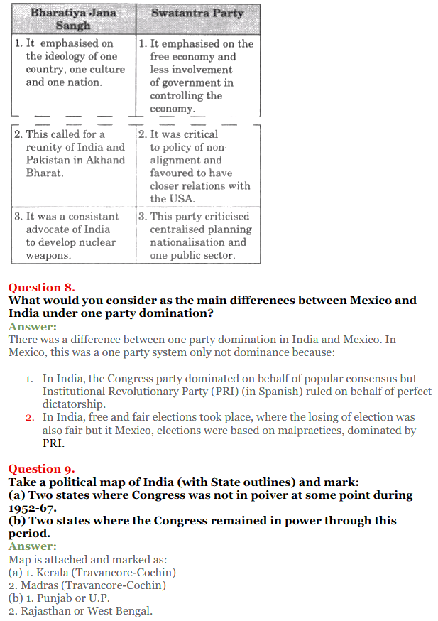 NCERT Solutions for Class 12 Political Science Chapter 2 Era of One Party Domina 5