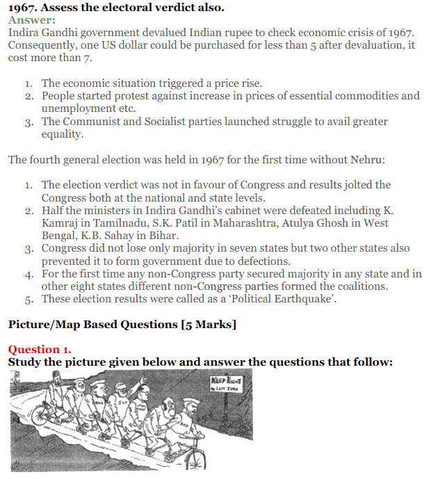 NCERT Solutions for Class 12 Political Science Chapter 5 Challenges to and Restoration of Congress System 25
