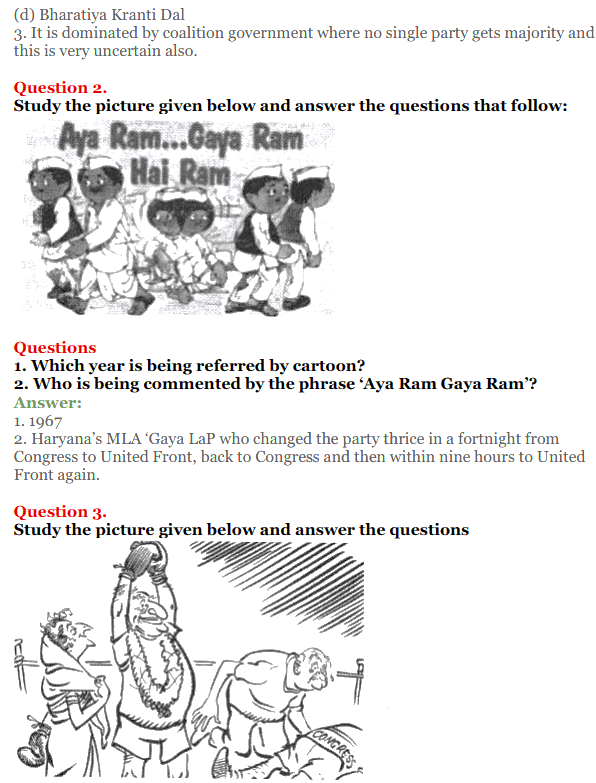 NCERT Solutions for Class 12 Political Science Chapter 5 Challenges to and Restoration of Congress System 27
