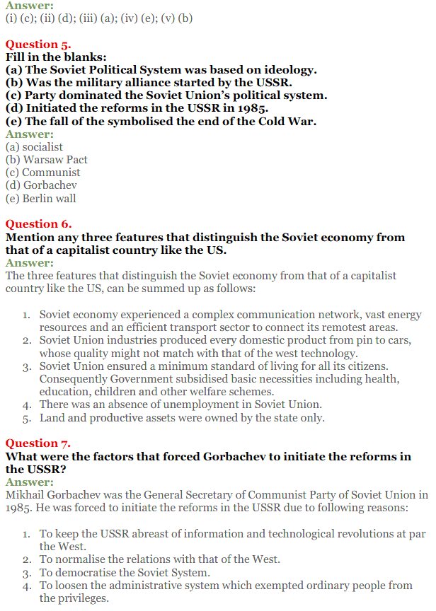 NCERT Solutions for Class 12 Political Science Chapter 2 The End of Bipolarity 2