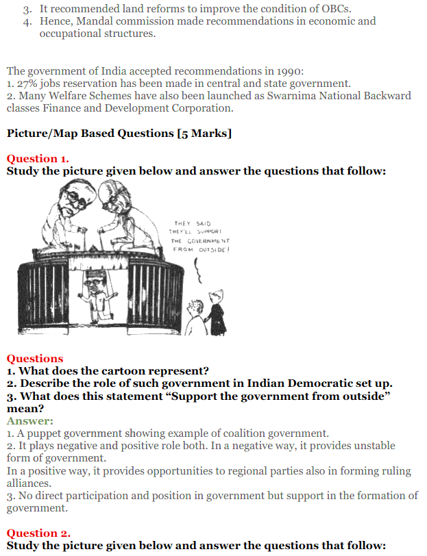 NCERT Solutions for Class 12 Political Science Chapter 9 Recent Developments in Indian Politics 19