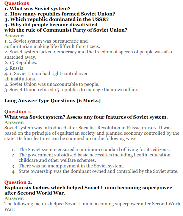 NCERT Solutions for Class 12 Political Science Chapter 2 The End of Bipolarity 17
