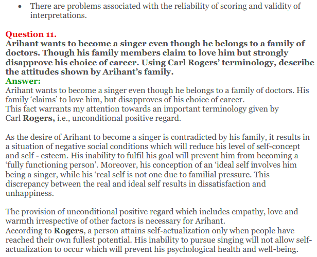 NCERT Solutions for Class 12 Psychology Chapter 2 Self And Personality 17