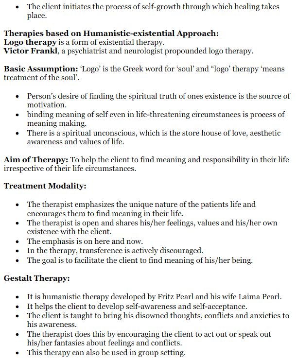 NCERT Solutions for Class 12 Psychology Chapter 5 Therapeutic Approaches And Counselling 14