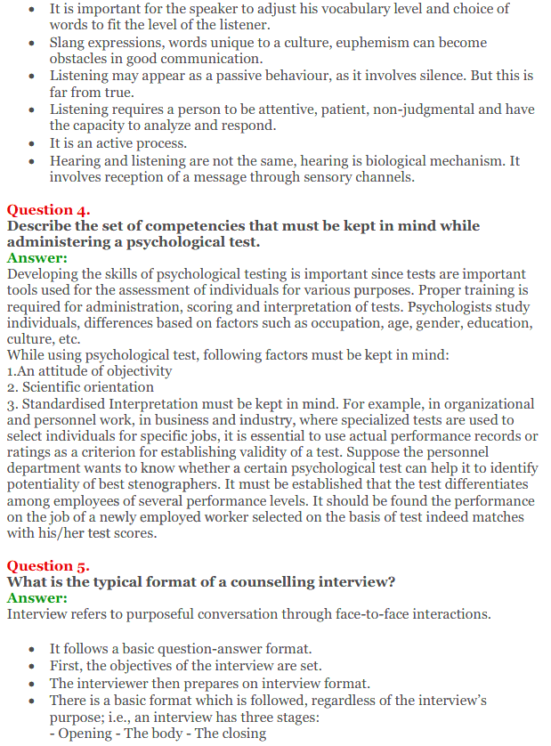 NCERT Solutions for Class 12 Psychology Chapter 9 Developing Psychological Skill 4