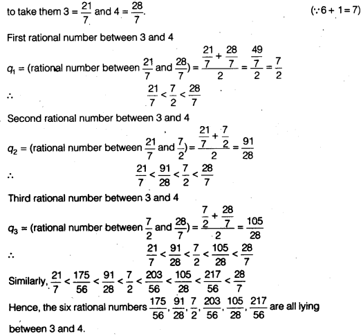 NCERT Solutions for Class 9 Maths Chapter 1 Number Systems Ex 1.1 img 1