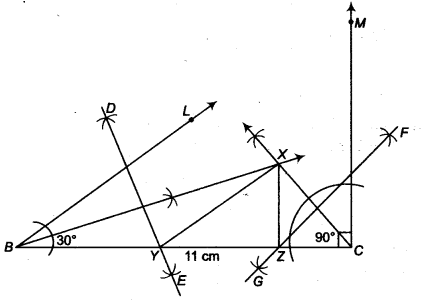 NCERT Solutions for Class 9 Maths Chapter 12 Constructions Ex 12.2 img 4