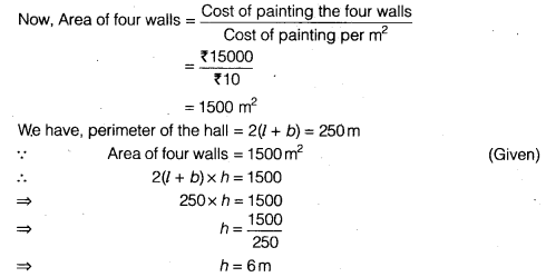 NCERT Solutions for Class 9 Maths Chapter 13 Surface Areas and Volumes Ex 13.1 img 1
