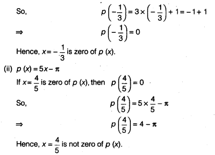 NCERT Solutions for Class 9 Maths Chapter 2 Polynomials Ex 2.1 img 2