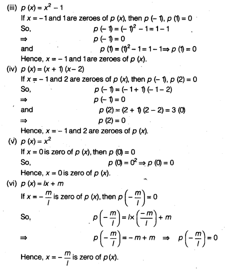 NCERT Solutions for Class 9 Maths Chapter 2 Polynomials Ex 2.1 img 3
