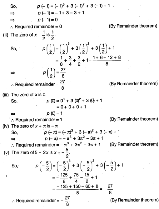 NCERT Solutions for Class 9 Maths Chapter 2 Polynomials Ex 2.3 img 1