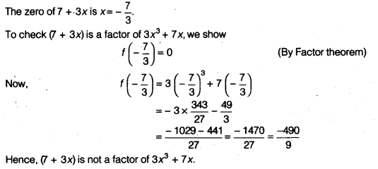 NCERT Solutions for Class 9 Maths Chapter 2 Polynomials Ex 2.3 img 2