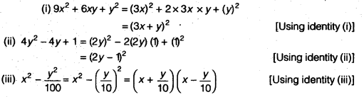 NCERT Solutions for Class 9 Maths Chapter 2 Polynomials Ex 2.5 img 1