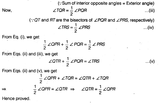 NCERT Solutions for Class 9 Maths Chapter 4 Lines and Angles Ex 4.3 img 11