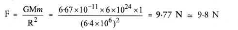 NCERT Solutions for Class 9 Science Chapter 10 Gravitation image - 5