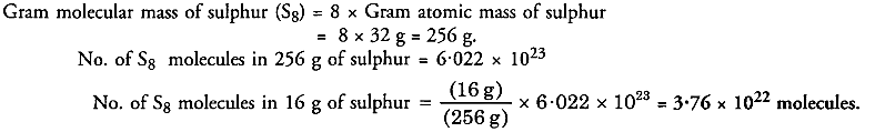 NCERT Solutions For Class 9 Science Chapter 3 Atoms and Molecules 12