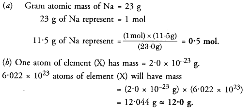 NCERT Solutions For Class 9 Science Chapter 3 Atoms and Molecules 17