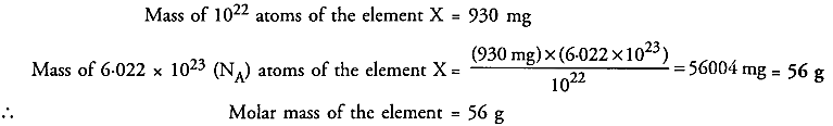 NCERT Solutions For Class 9 Science Chapter 3 Atoms and Molecules 20