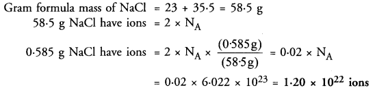 NCERT Solutions For Class 9 Science Chapter 3 Atoms and Molecules 22