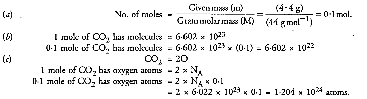 NCERT Solutions For Class 9 Science Chapter 3 Atoms and Molecules 23