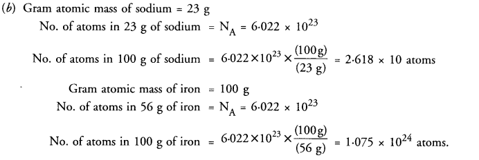 NCERT Solutions For Class 9 Science Chapter 3 Atoms and Molecules 28