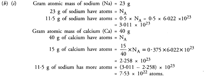 NCERT Solutions For Class 9 Science Chapter 3 Atoms and Molecules 29