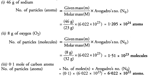 NCERT Solutions For Class 9 Science Chapter 3 Atoms and Molecules 5