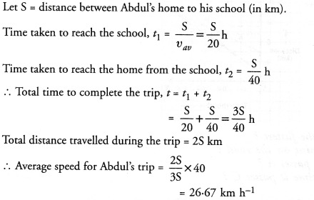 NCERT Solutions for Class 9 Science Chapter 8 Motion image - 14